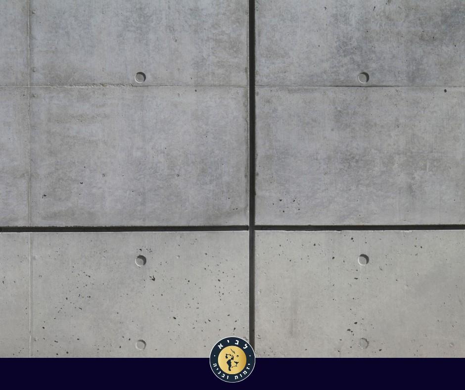 ניוזלטר 2 פינת האדריכל תמונה 3 - סוגים וצבעים של בטון